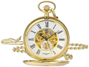 Charles-Hubert, Paris 3973-G Classic Collection Analogue Display Mechanical Hand Wind Pocket Watch