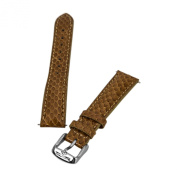 Invicta Honey 16 mm Wide Copperhead Snake Leather Strap