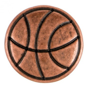 Ginger Snaps Petite Copper Basketball Snap GP14-03