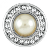 Ginger Snaps Petite Mission Pearl White Snap GP31-01