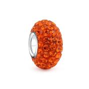 Bling Jewellery Sterling Silver Orange.