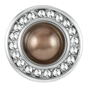 Ginger Snaps Petite Mission Pearl Brown Snap GP31-03