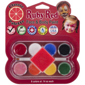 Ruby Red Face Paint Kit-Classic Palette