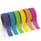 Paper Neon Washi Tape Set