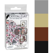 Crystal Clay 2-Part Epoxy Clay Kit - Metallics Colour Mix 100g