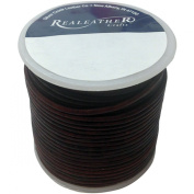 Round Leather Lace 2mm 25yd Spool