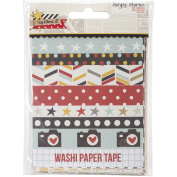 Say Cheese II Washi Paper Tape 7.6cm x 10cm Sheets 24/Pkg-Designer