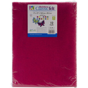 Kunin Classic Rainbow Eco-Fi Felt Assortment 23cm x 30cm 12pc-Kaleidoscope
