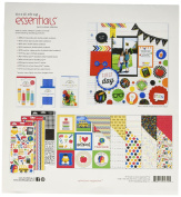 Doodlebug Essentials Page Kit 12inX12in Back To School