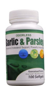 Odourless Garlic and Parsley Softgels - 100:1 extract