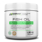 Pure Fish Oil | AMRAP Nutrition - Wild Caught & Cold Processed