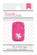 Knock Outs Mini Punch-Flower, .950cm