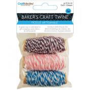 Baker's Twine 10m 3 Spools/Pkg-Flair