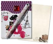 Lissom Design 25159 Match Book - Traveller
