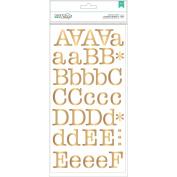 DIY Shop 2 Alpha Stickers 28cm x 14cm 5/Pkg