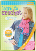 Leisure Arts Learn To Crochet Scarf