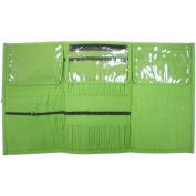 Premier Yarn Needle and Notions Organiser, 27cm x 17cm x .13cm , Green