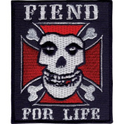 Misfits Men's Embroidered Patch Blue