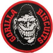 Gorilla Biscuits Men's Gorilla Embroidered Patch Black