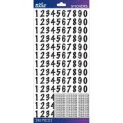 Sticko Numbers Stickers-Black Dot Medium