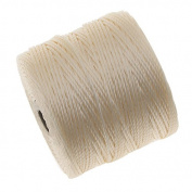 BeadSmith Super-Lon Cord - Size #18 Twisted Nylon - Vanilla