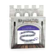 Weave Got Maille 3-Colour Byzantine Chain Maille Bracelet Kit, Jeannie in A Bottle