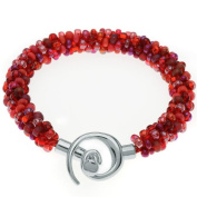 Beaded Kumihimo Bracelet (Red Tones) - Exclusive Beadaholique Jewellery Kit