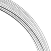 Beadsmith Silver Plated Copper German Bead Wire Craft Wire 14 Gauge/1.5mm