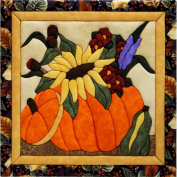 Flowers In A Pumpkin Quilt Magic Kit-30cm x 30cm