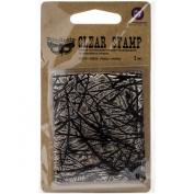 Finnabair Clear Stamp 6.4cm x 7.6cm -Pines