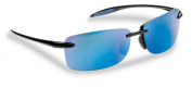 Flying Fisherman Master Angler Cali Polarised Sunglasses Black/Blue 7305BSB