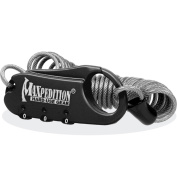 Maxpedition Steel Cable Lock, Black