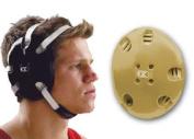 Cliff Keen E58 Signature Wrestling Headgear - Vegas Gold