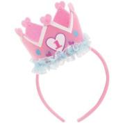 1st Birthday Headband, Pink