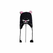 Youth/Adult Kiki The Kitty Pilot Hat by Knitwits - A1169, One Size