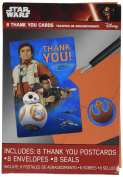 Star Wars EP Vll Thank You Cards