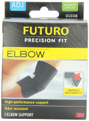 Futuro Infinity Precision Fit Adjustable Black Elbow Support