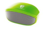 Life N Soul BM208-G Compact Wireless Bluetooth 3.5mm Stereo Speaker - Green