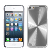 For iPod touch 6th GEN, 5th GEN Silver Cosmo Back Protector Cover