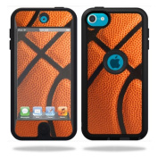 Mightyskins Protective Vinyl Skin Decal Cover for OtterBox Defender Apple iPod Touch 5G 5th Generation Case Basketball