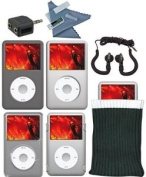 i.Sound 10-in-1 Accessory Kit for iPod Classic 120GB/80GB DGIPOD-1412