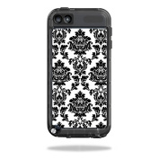 Mightyskins Protective Vinyl Skin Decal Cover for LifeProof iPod Touch 5th Gen Case wrap sticker skins Vintage Damask