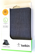 Chambray Cover for Kindle Fire 18cm - Black