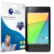 Tech Armour Nexus 7 FHD (2nd GENERATION) 2013 Tablet Premium High Definition (HD) Clear Screen Protector with Lifetime Warranty [3-PACK] - Retail Packaging