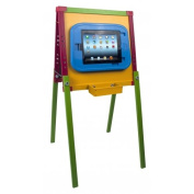 CTA Digital Pad-Easel Kids Drawing Easel for Apple iPad