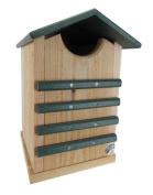JCs Wildlife Cedar and Poly Screech Owl or Saw-Whet Owl House Nesting Box, Green
