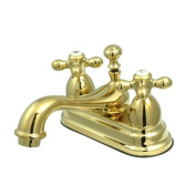 Lavatory Faucet with Brass Pop-up