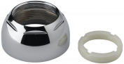 Delta-RP50PB Cap Assembly with Adjusting Ring, Polish Brass