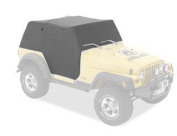Bestop 81038-09 Charcoal All Weather Trail Cover for 97-06 Wrangler TJ Unlimited