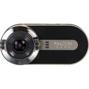 Falcon Zero F170HD+ GPS DashCam 1080P 170 Degree Viewing Angle, 32GB microSD Card Included, FULL HD